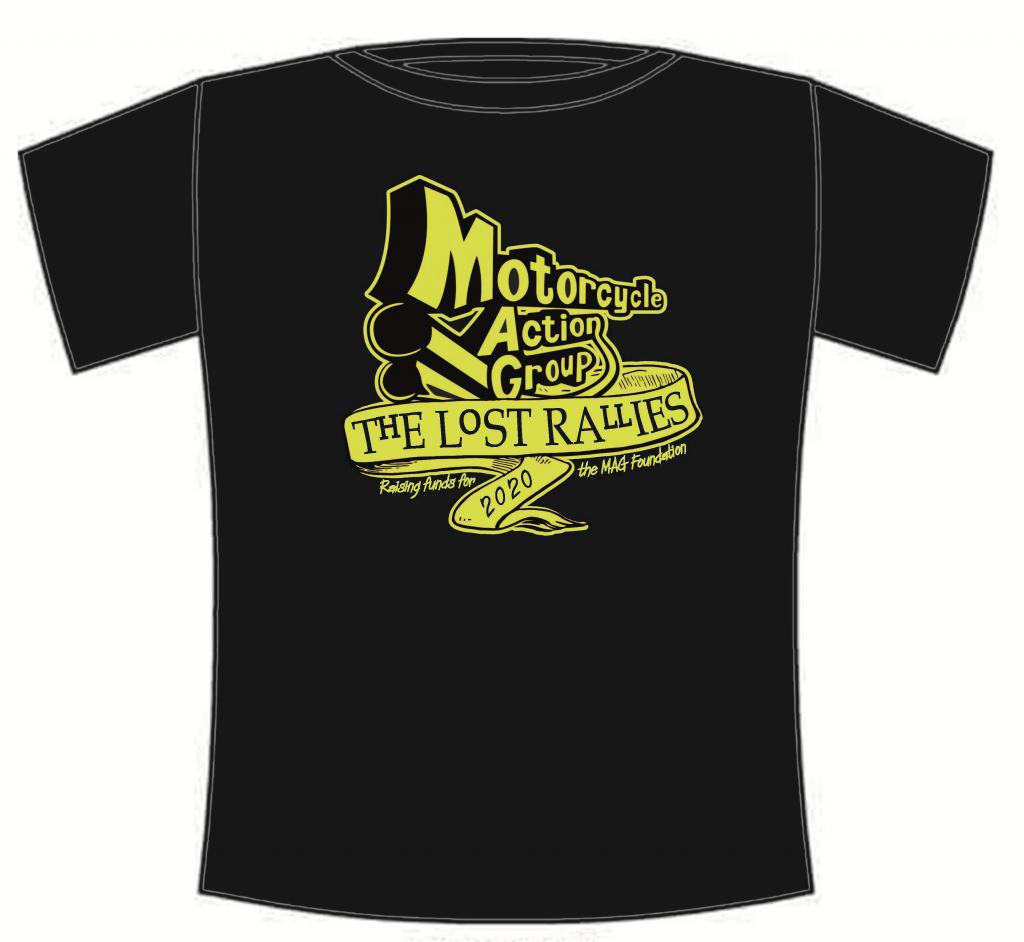 order 'Lost Rallies' tee-shirt