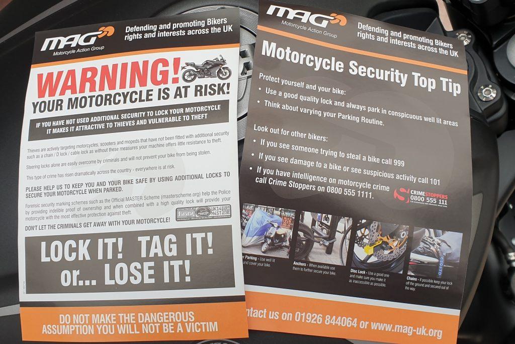 MAG Lock it or Lose it leaflets