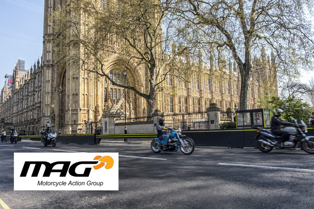 MAG on track for motorcyclists
