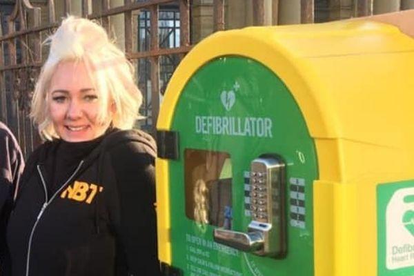Ria Brisland Defibrillator